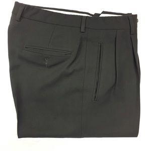 Claiborne Men's Grey Pleated Dress Pants
